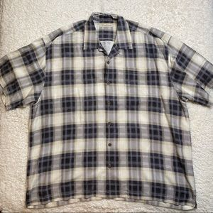 Tommy Bahama Plaid Button Down